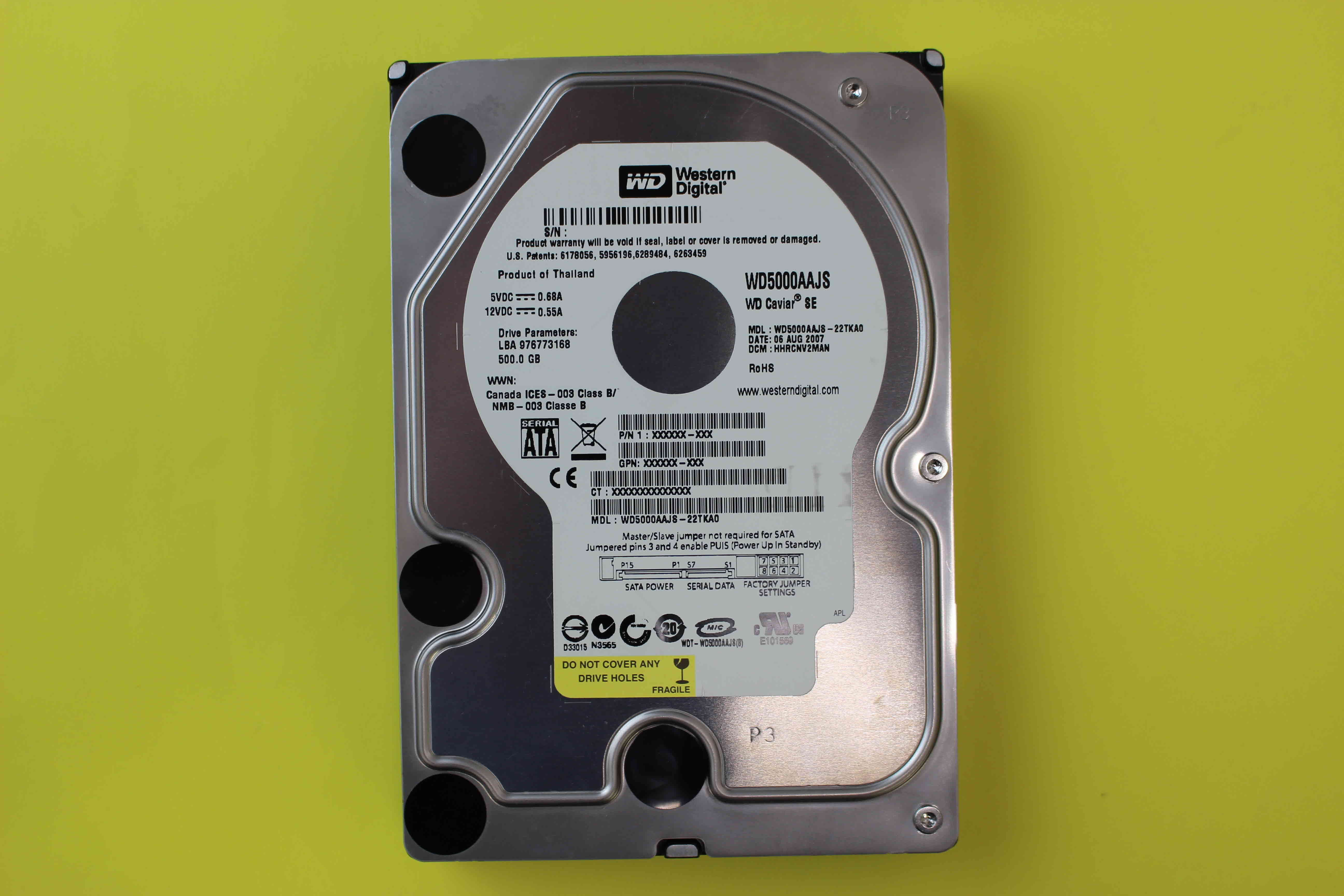 wd5000aajs-22tka0-recovery