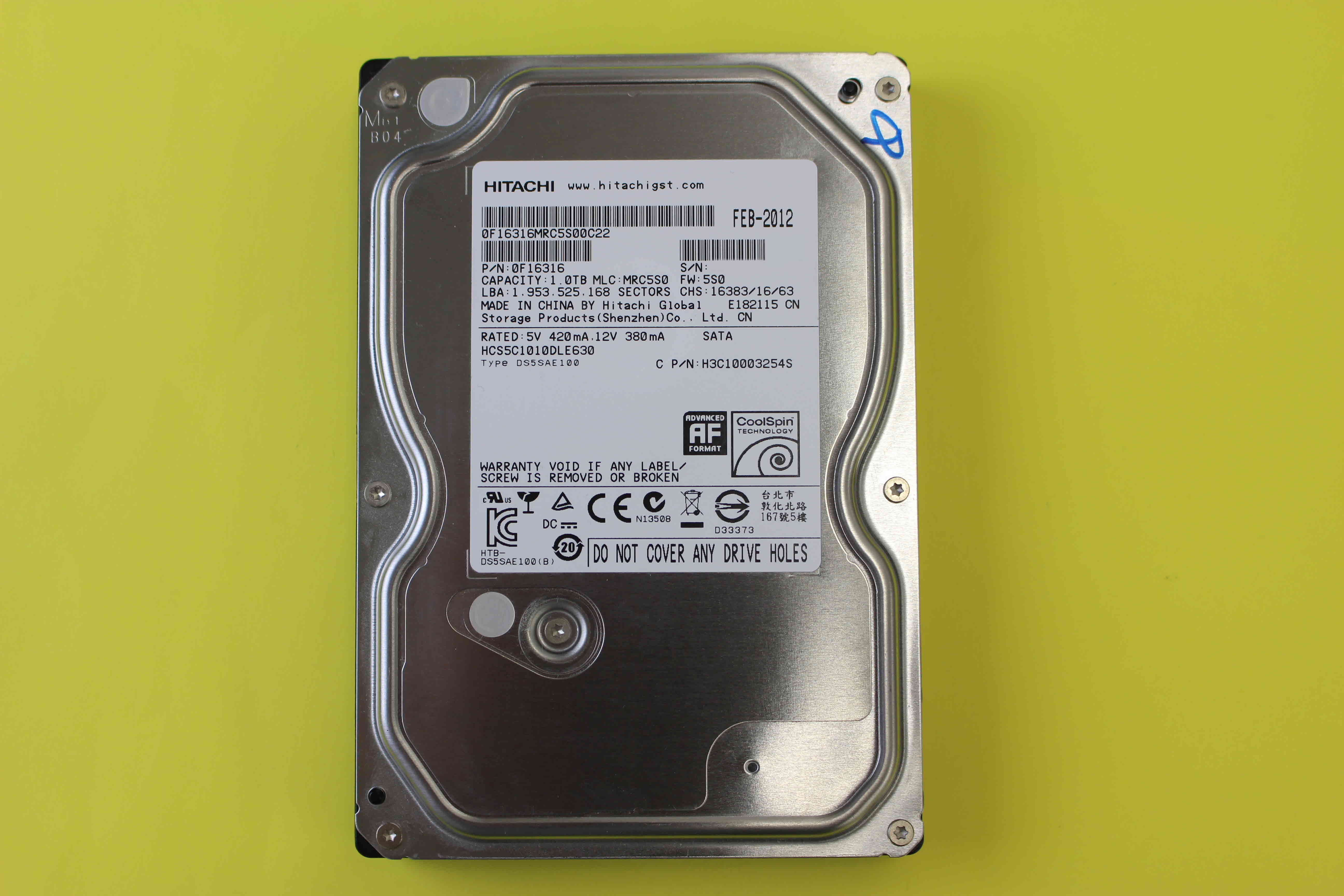 hcs5c1010dle630-recovery
